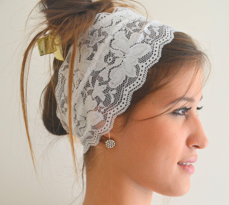 Beautiful Delicate Lace Headband