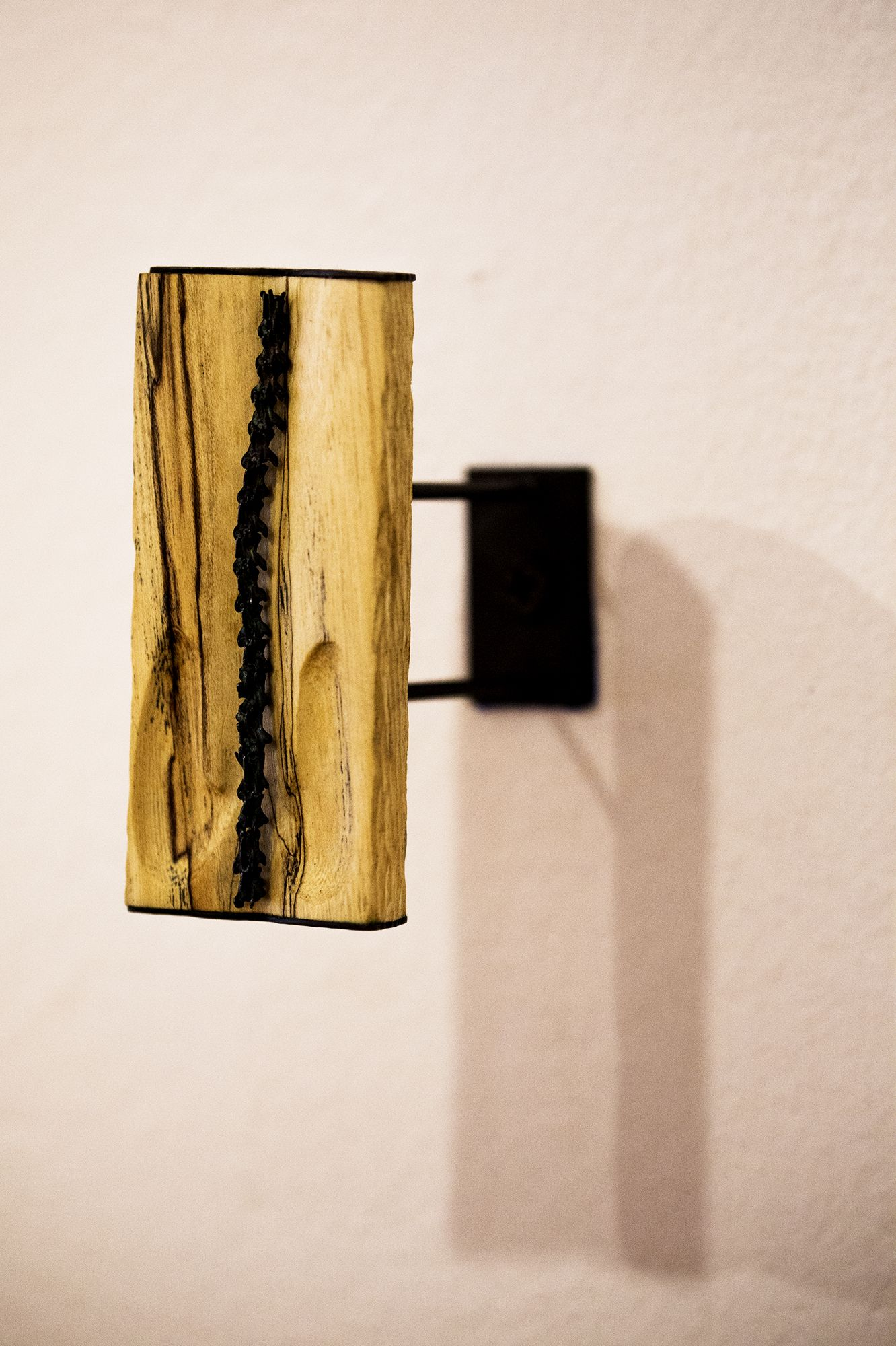 Jessica Tenbusch - Sapling (wood, sterling silver, copper)