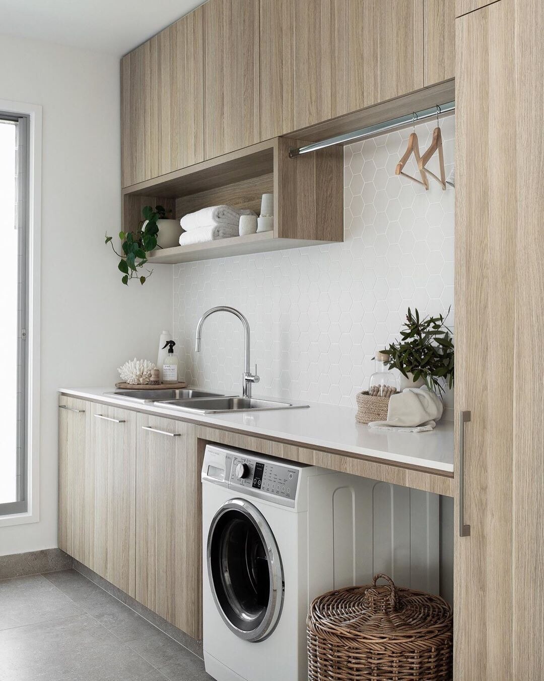 Design Styling Reno Tips On Instagram Z S Tip Designing A Gamechanger Laundry Laundry Room Design Modern Laundry Rooms Laundry