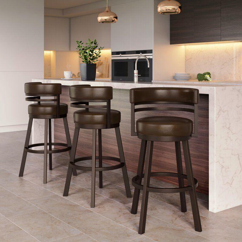 Rinker Swivel Bar Stool in 2020   Counter stools, Bar ...