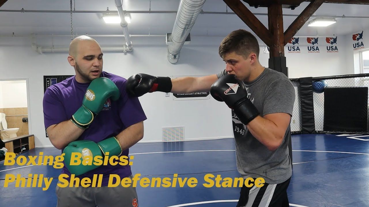 Boxing Basics How To Philly Shell Defensive Stance Boxing Basics Stance Defense