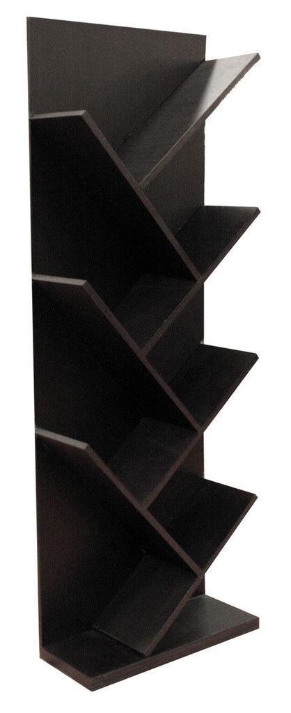 Librero lippu minimalista centro entretenimiento y repisas pinterest libreros - Libreros de madera modernos ...