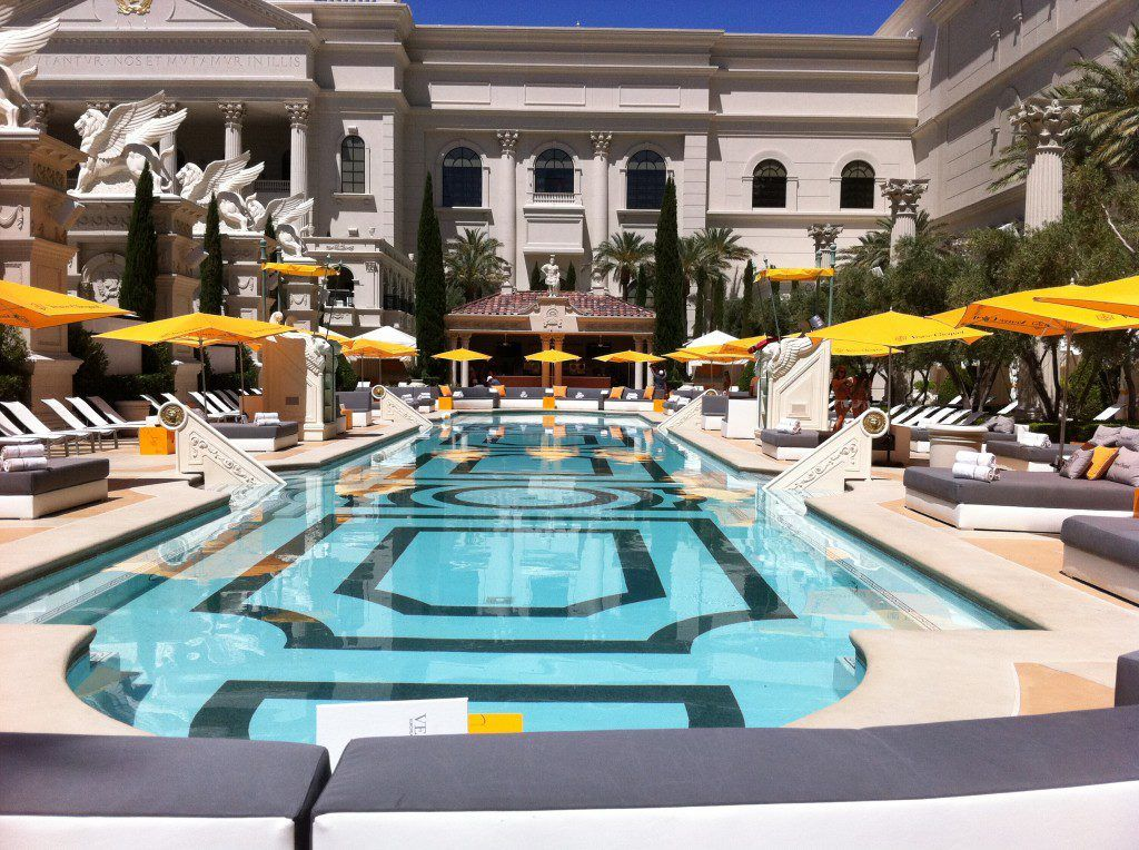 Venus Pool & Moroccanoil Sunscreen Best pools in vegas
