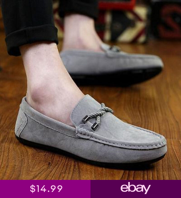 Stylish Mens Breathable Slip On Loafers Casual Driving Moccasins Male Boat Shoes Breathable Shoes Men Flat Shoes Men Loafers Men