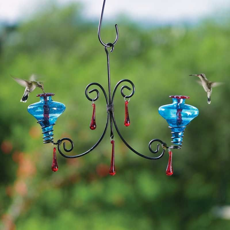 Mini Blossom Chandelier Hummingbird Feeder Humming Bird Feeders Glass Hummingbird Feeders Diy Chandelier