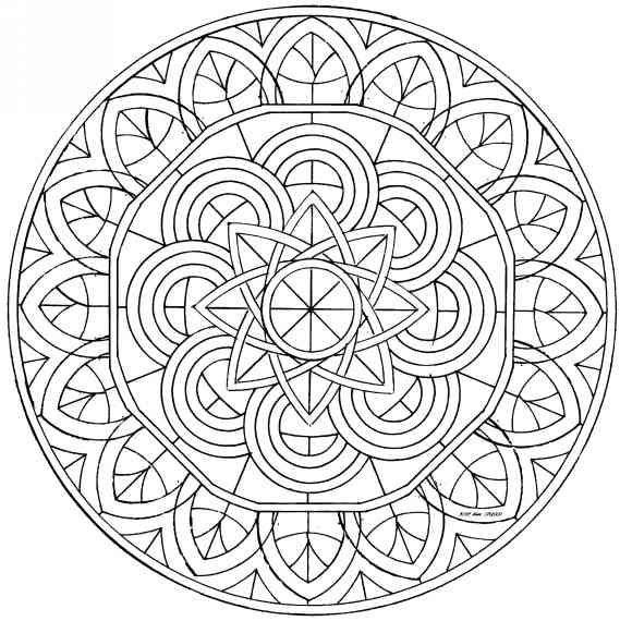 Mandala Mandala Selber Malen Bilder Zum Ausmalen Keltische Mandala