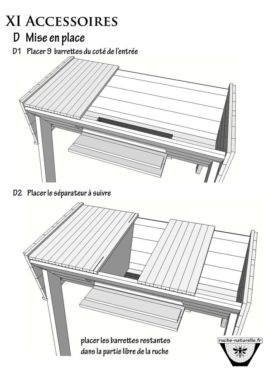 plan ruche en palettes vue de dessus sans le toit ruche pinterest ruches le toit et palette. Black Bedroom Furniture Sets. Home Design Ideas
