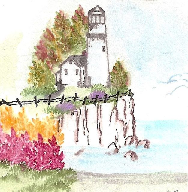 art impressions - watercolor stamps