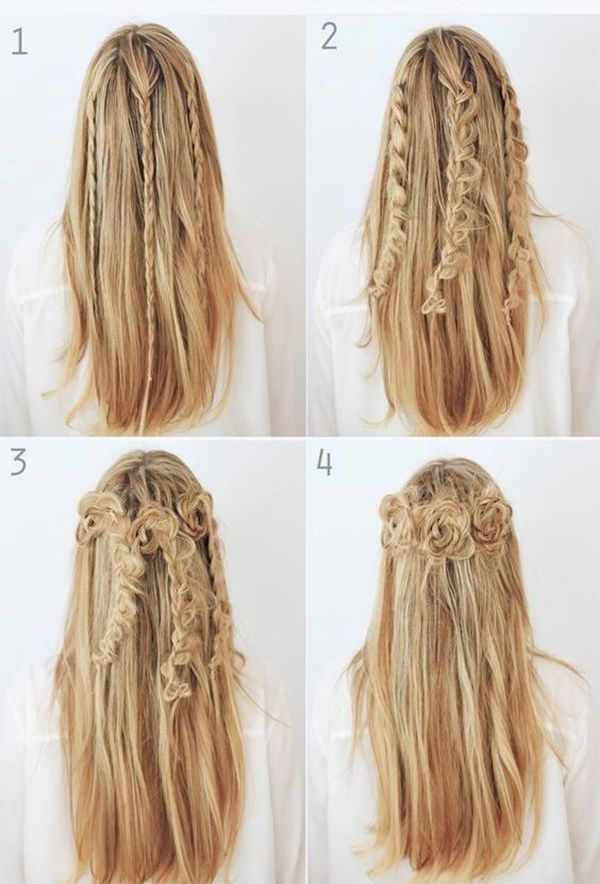 easy step hairstyles