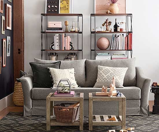 Little Homes Meet Big Style Pottery Barn's Latest Home Decor Custom Apartment Room Decor Collection