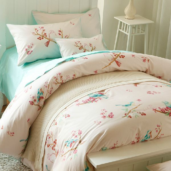 Bedding Set Quality Kids Directly From China 4 Pcs Suppliers Linpure Bird And Fragrant