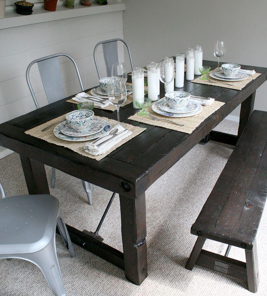 urban rustic furniture. Solid Western Red Cedar Dining Table Urban Rustic Furniture O