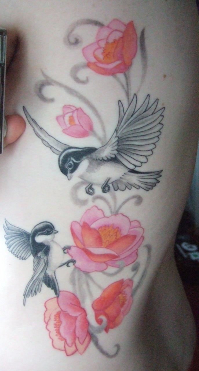 Great Tattoo Tattoo Ideas Central Tattoos Bird And Flower Tattoo Cute Tattoos