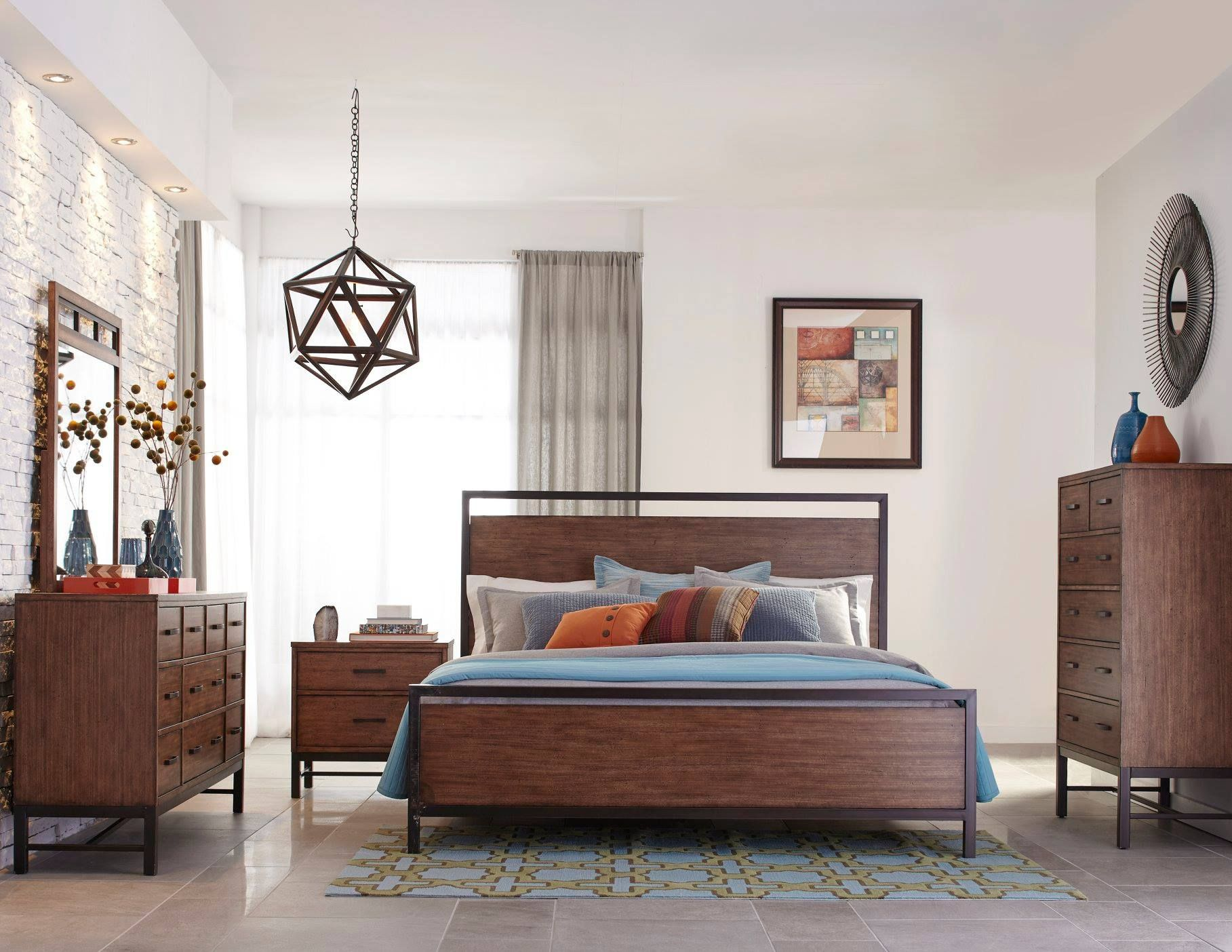 """Our Big """"Stars"""" from Las Vegas Market Rustic bedroom"""