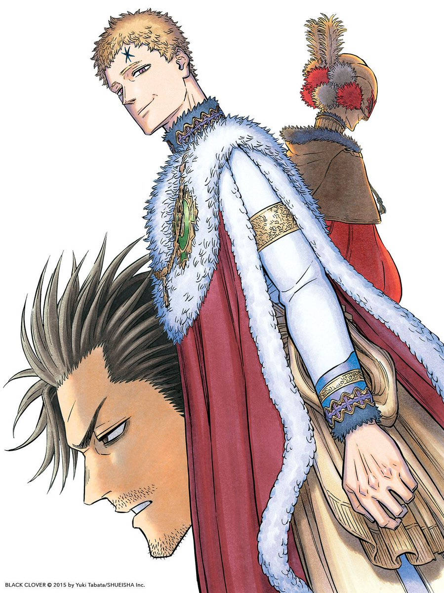 Viz On Twitter Black Clover Anime Black Bull Anime He his magic is the ability to control time. viz on twitter black clover anime