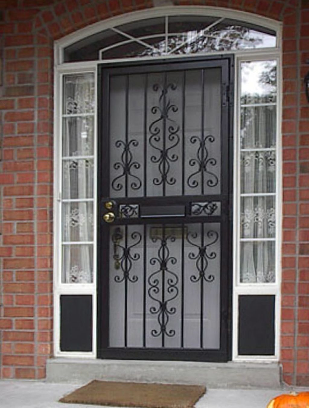 Lovely Entry Doors with Mail Slot
