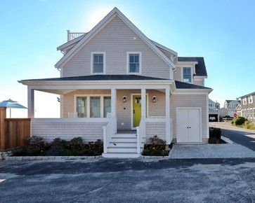 Small Beach House Lives Big - Beach Style - Exterior - Boston - Encore Construction