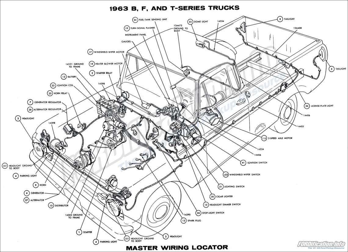 F100 65 Ford Econoline Wiring Diagram