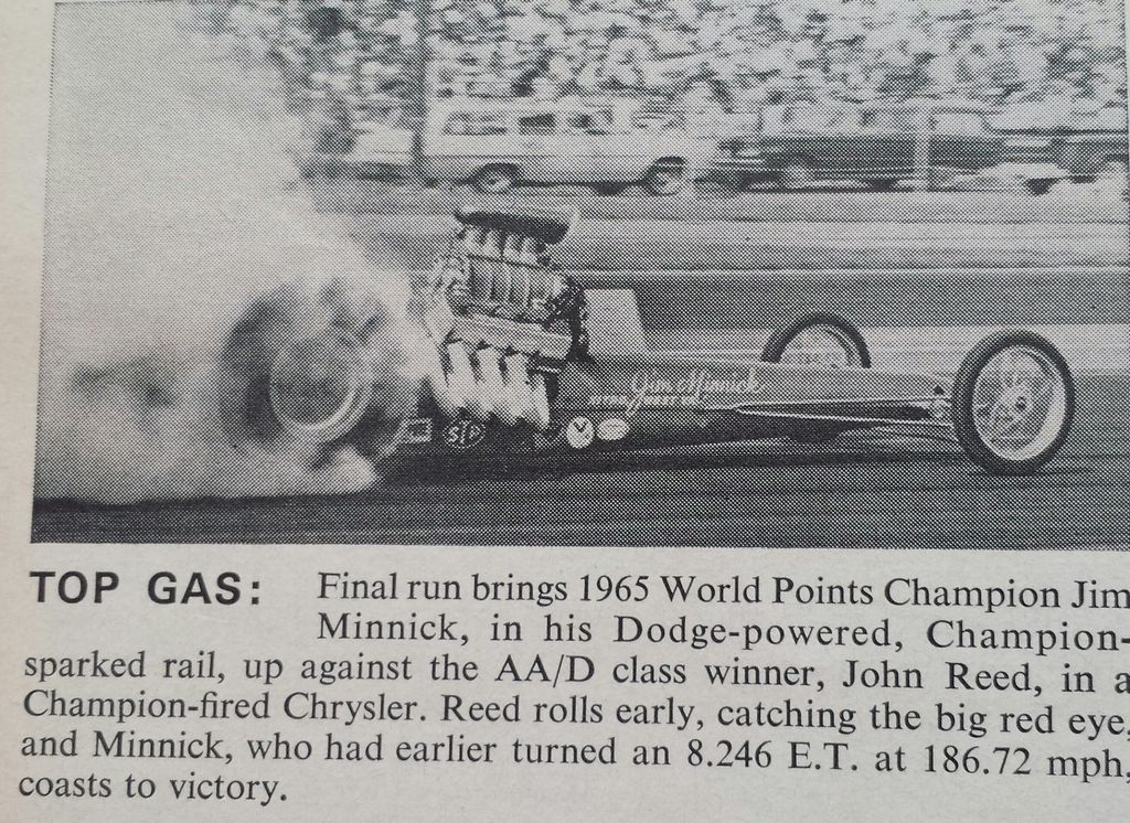 History Drag cars in motion.......picture thread. Drag