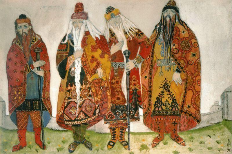 дела иллюстрации к опере князь игорь рисунки вишня