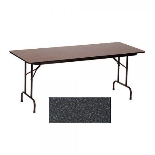 24x60 Melamine Top Folding Table Black Granite Black 29 H X 60 W X 24 D By Correll 155 00 Size 29 H X 60 W X 24 D Folding Table Home Particle Board
