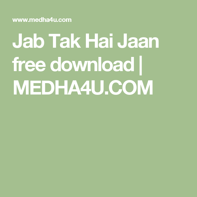TAK JAB FILM MOTARJAM HAI JAAN HINDI TÉLÉCHARGER