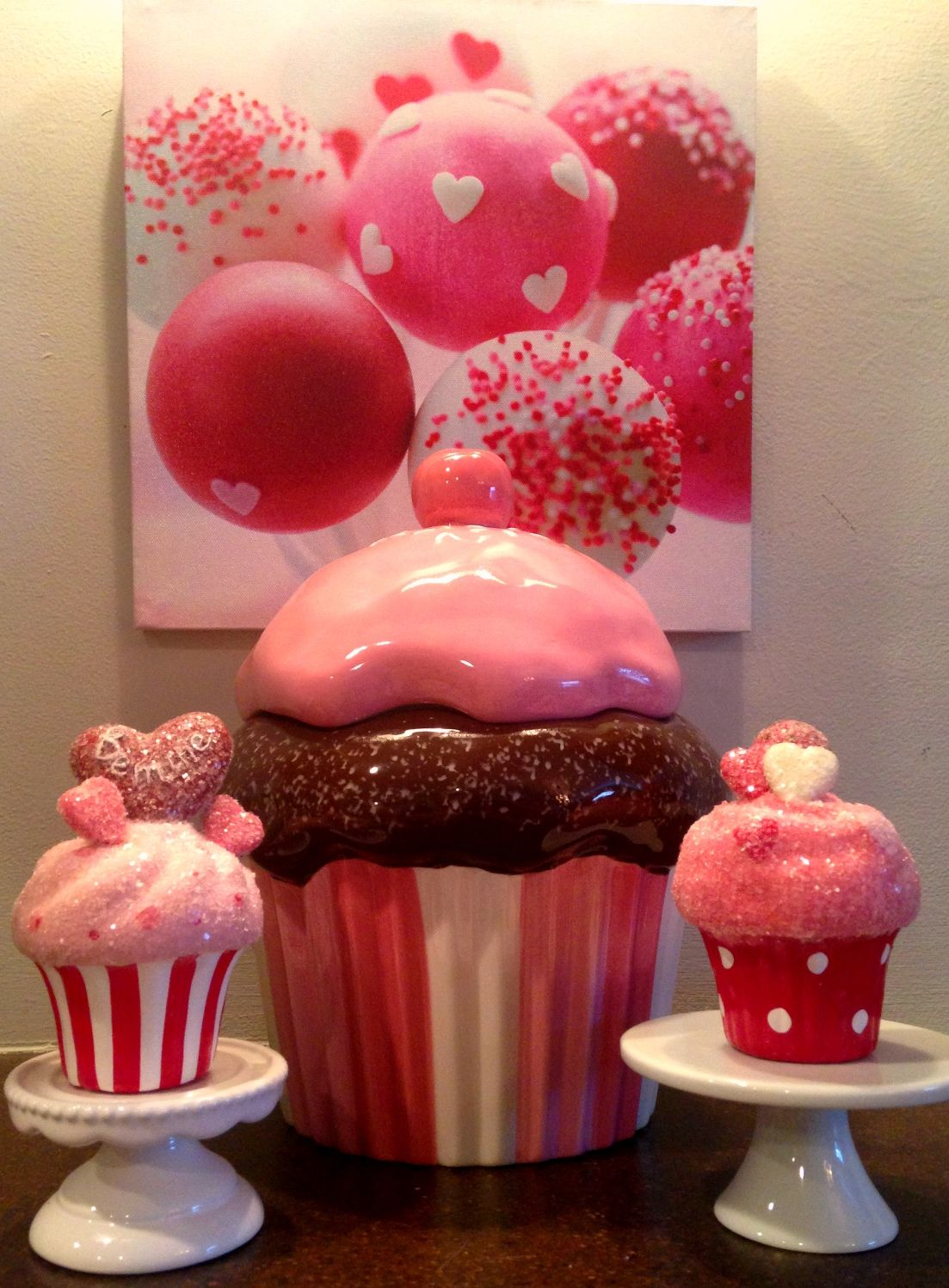 17 Best Images About Valentines Day On Pinterest Candy Canes Cupcake Decor For Kitchen