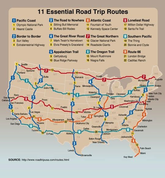 11 Amazing Road Trips You Can Do Without Ever Leaving The United States Summer Road Trip Road Trip Usa Road Trip