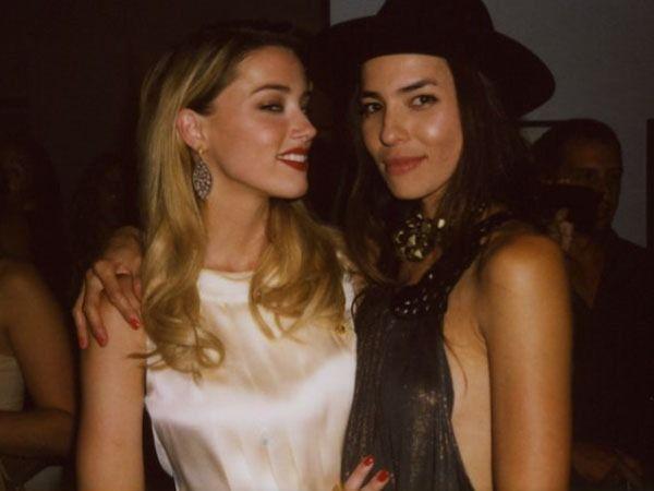 French Model Marie De Villepin Is Amber Heards New Girlfriend