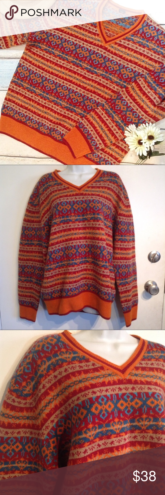 McNEAL CLOTHING CO Carlisle Lambswool Sweater McNeal