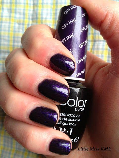 Opi Gel Color Opi Ink First Ever Gel Colour In 2019