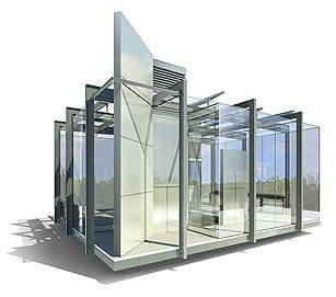 Latest Glass House Design From House Of The Future Minimalist