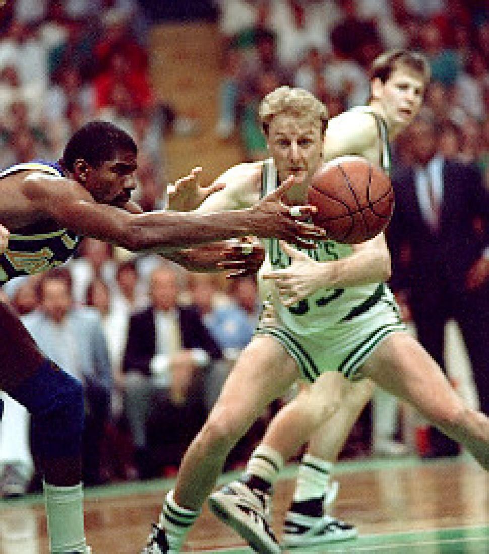 Magic Johnson and Larry Bird talk LakersCeltics glory