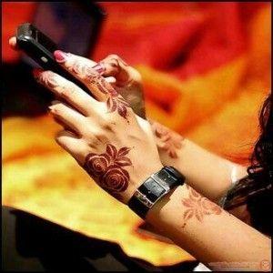 نقش حناء اماراتي اصابع 2015 مجلة توب ماكس تكنولوجي نقوش حناء Floral Henna Designs Arabic Henna Designs Unique Henna