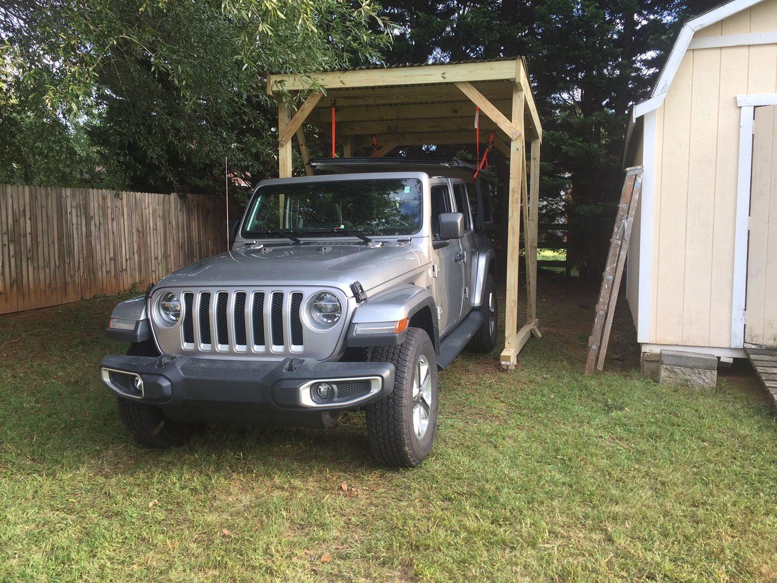 DIY Hardtop hoist ideas brainstorming Bumper hitch