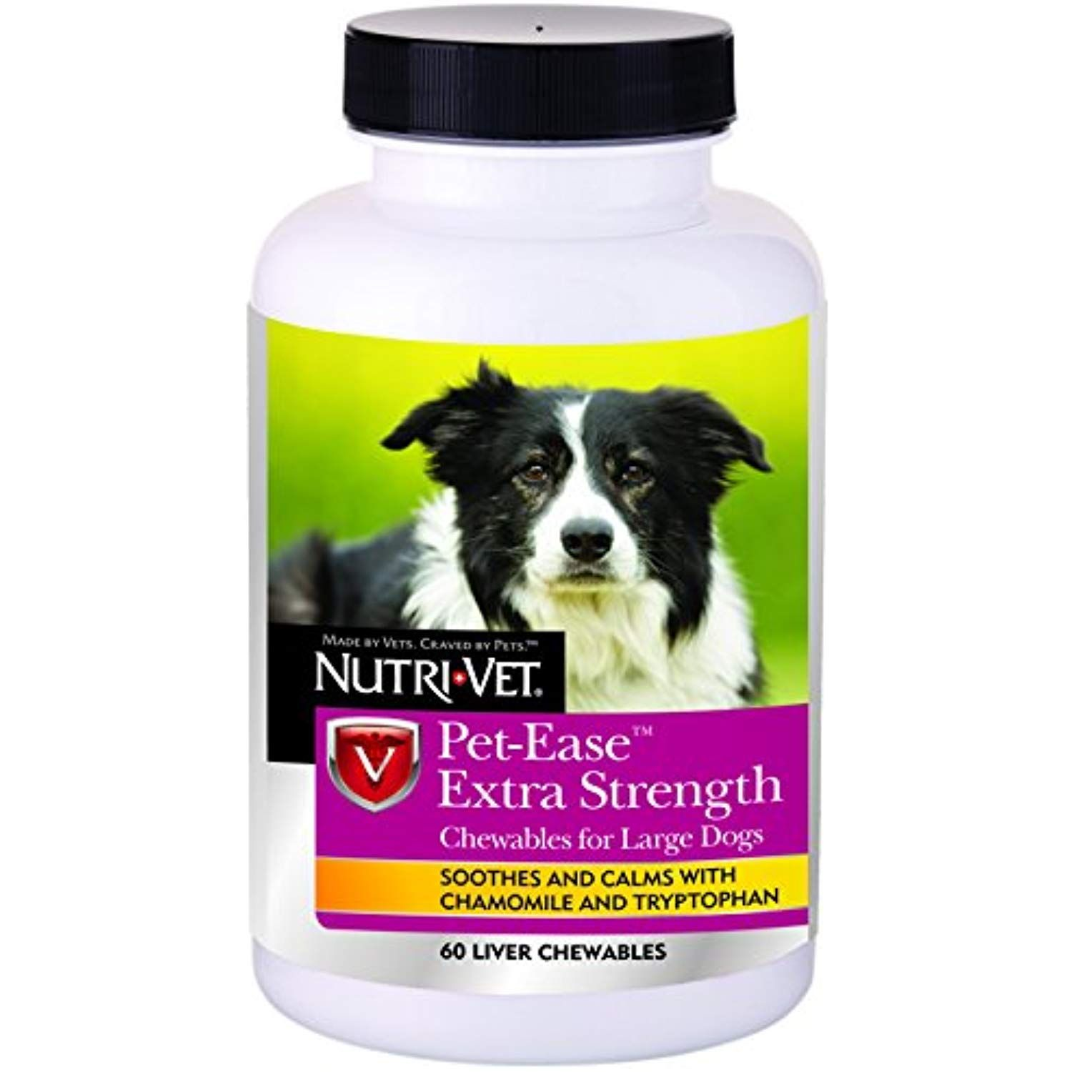 Nutri Vet Wellness Pet Ease Extra Strength Chewables 60 Count For More Information Visit Image Link This Is An Affiliate Link Cats Pets Vets Nutri