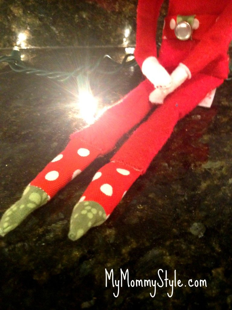 What to do if you burn your elf on the shelf in a light fixture