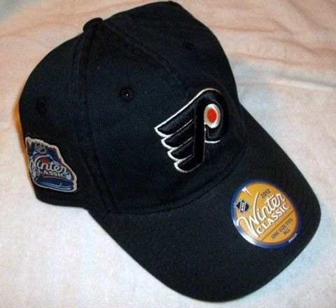 Reebok Philadelphia Flyers 2012 Nhl Winter Classic Adjustable Slouch Hat One Size Fits All by Reebok. Save 41 Off!. $12.99. CURVED BILL. 6 PANELS WITH VENTS. MADE OF 100% COTTON. EMBROIDERED AND RAISED LOGO. Show off your hockey spirit while wearing the Reebok® 2012 NHL® Winter Classic® adjustable slouch hat. This team-colored cap features the team logo embroidered on the front and the Winter Classic® logo on the right side.
