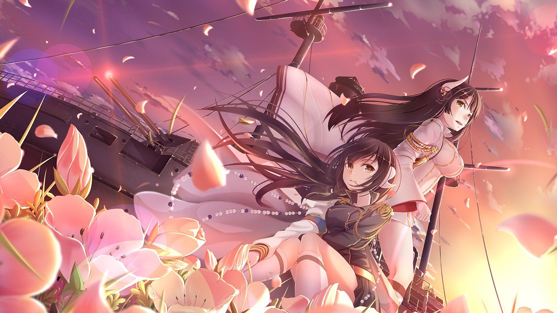 Anime Azur Lane Hiei (Azur Lane) Mikasa (Azur Lane