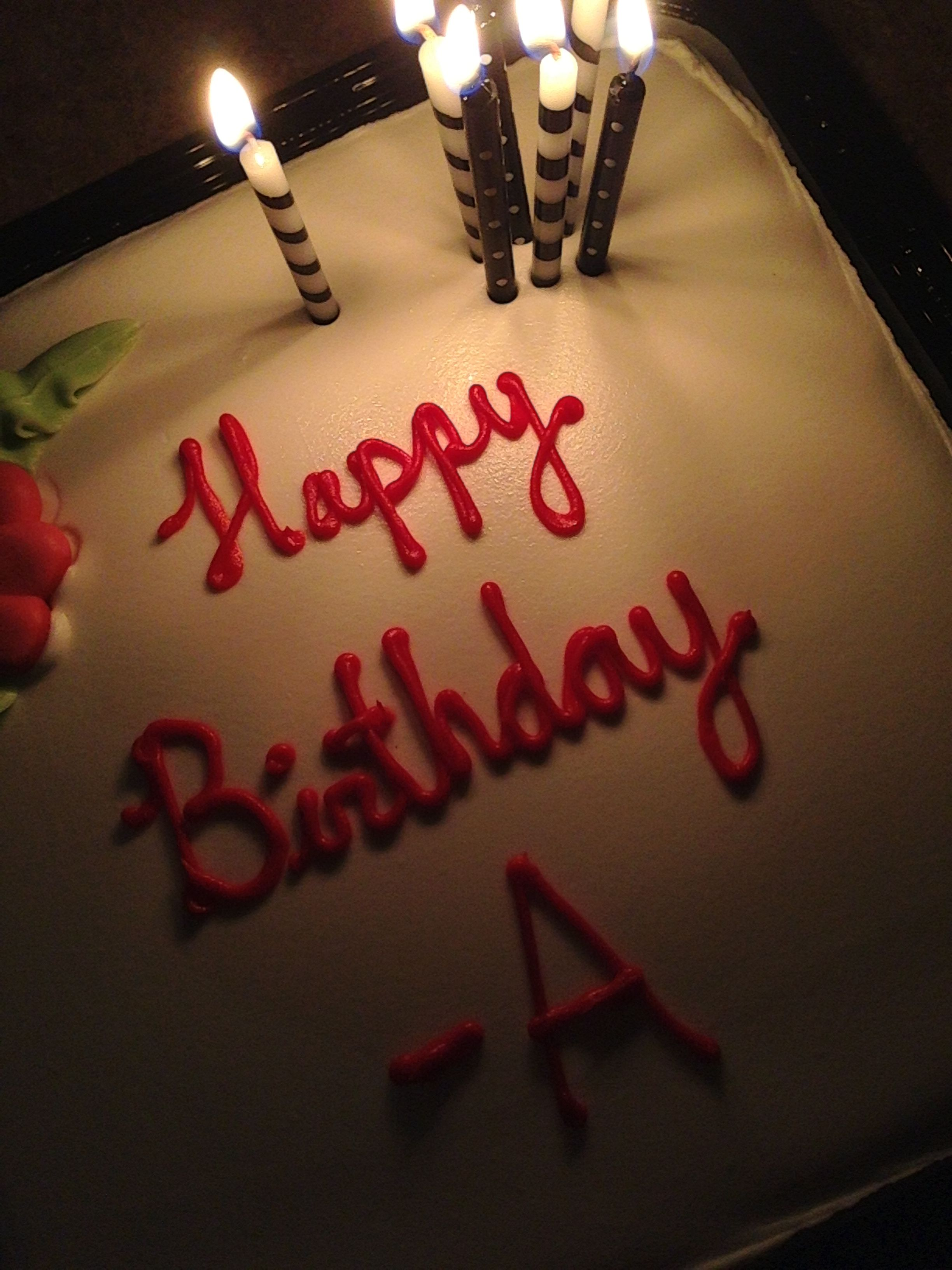 Pretty little liars a wee pre bday cake for Liz from