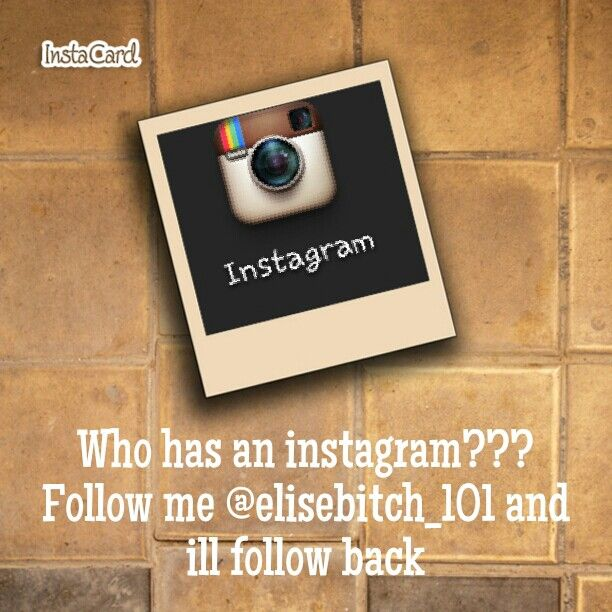 Follow me and ill follow back