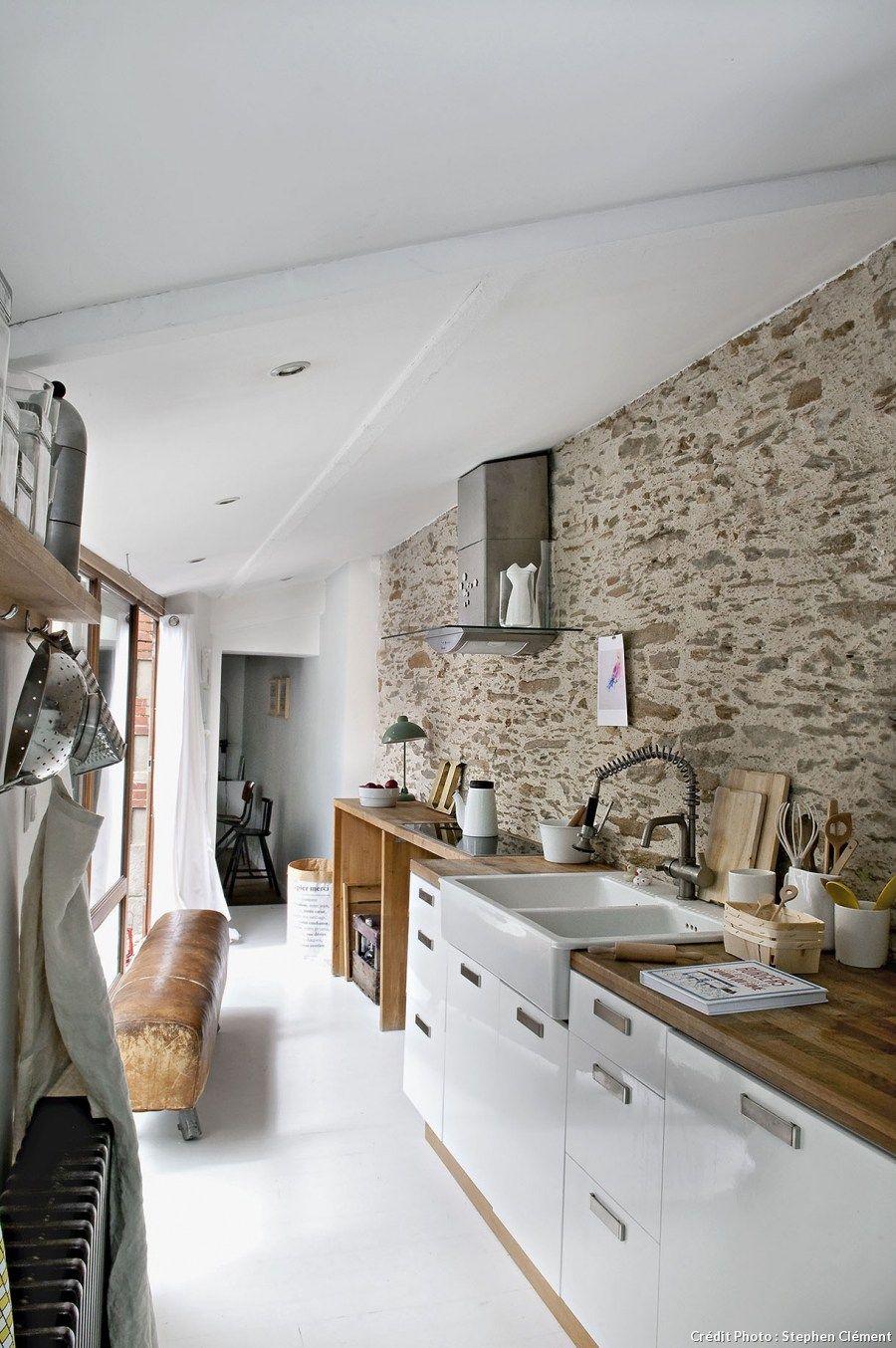Cuisine Moderne Dans Maison En Pierre: Une Ancienne Maison De Pêcheurs