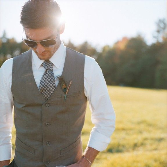 Outdoor Wedding Outfit Ideas: Love This Picture Of The Groom