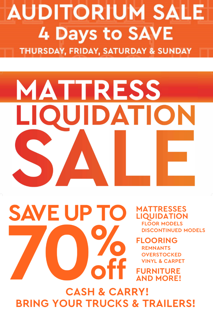 Save With Financing Markdowns Mattress Furniture Sale Flooring