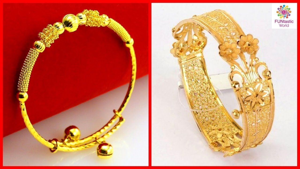 latest gold bangles designs with weight and price