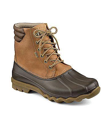 Sperry Men's Avenue Waterproof Winter Duck Boots | Dillard's ...