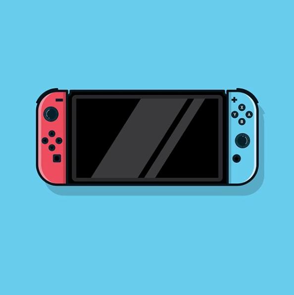 Switch Vector Nintendo Switch Nintendo Nintendo Art