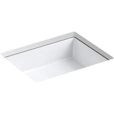 Kohler Verticyl Undermount Porcelain Bathroom Sink K 2882 0 White Supply Com Undermount Bathroom Sink Bathroom Sink Square Bathroom Sink