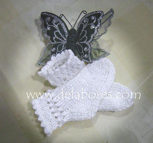 Cómo tejer calcetines de lana para bebés | Pinterest | Calcetines de ...
