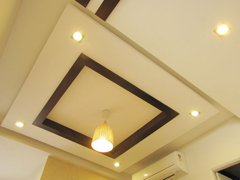 False Ceiling Simple Yet Very Elegant False Ceiling